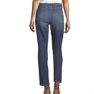 Liz Claiborne Straight Leg Stretch Blue Jeans